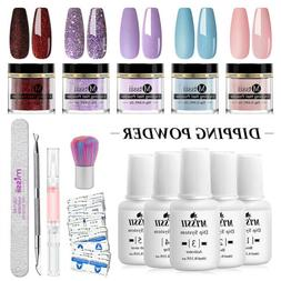 10g Mtssii Dipping Nail Powder Pigment Glitter Dip Liquid NO