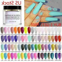 10ml nail art dipping powder glitter dip
