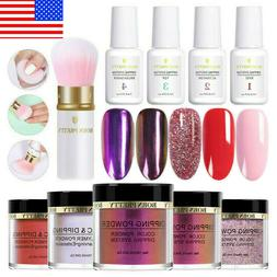 10Pcs BORN PRETTY Dipping Powder Nail Dip System Liquid Brus