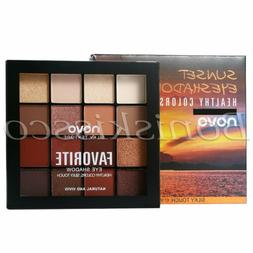 16 Colors Eyeshadow Palette Matte Shimmer Warm Cool Tone Eye