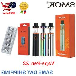 Smok² Vape²-Pen 22 Starter Kit Box Full Mod Start 1650mAh