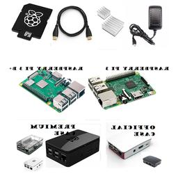 Raspberry Pi 3 & B+ 16GB Complete Starter Kit: SD, Case, Pow