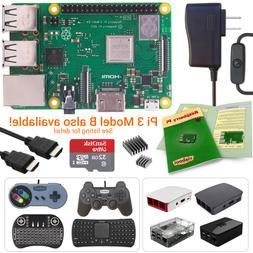 NEW LOW PRICES! Raspberry Pi 3 Model B+  Starter, Complete &