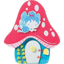 Darice 30023952 Foamies Fairy House Kit: Foam-5 inches, Mult