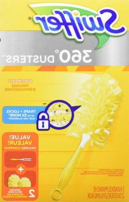 Swiffer 360 Dusters Heavy Duty Starter Kit, 2 Count