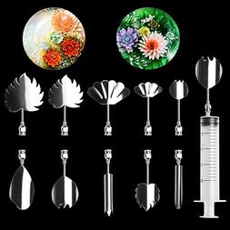 LOHOME 3D Gelatin Art Tools - Set of 10-pieces Jelly Cake St