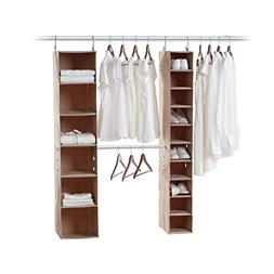 neatfreak 5666-ST closetMAX 3 Piece Kit with 6 & 10 Shelf St