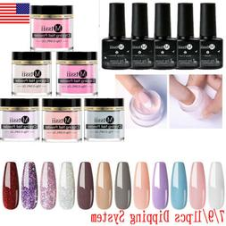7/9/11x 10g Mtssii Dipping Powder Liquid Nail Polish Starter