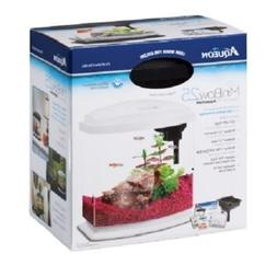 Aqueon Mini Bow 2.5 g LED Desktop Aquarium Kit Betta Complet