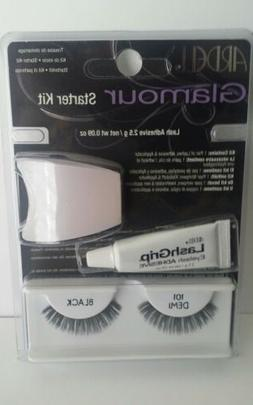 Ardell Glamour Starter False Eyelash Kit New & Unused 101 -