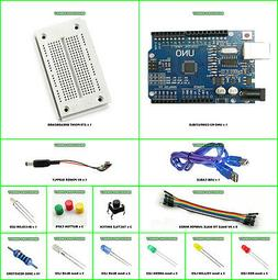 Arduino UNO R3 Starter Kit K Compatible Microcontroller ATME