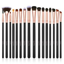 BESTOPE Eye Makeup Brushes Set, 16 Pieces Professional Cosme