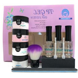 French Manicure Dipping Powder Starter Kit. Easy to use dip