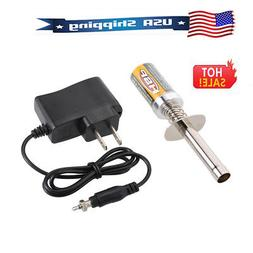 HSP Nitro Starter Kit Glow Plug Igniter w/ Battery Charger f