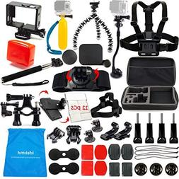 LifeLimit Accessories Kit for Hero 5 / Session / Gopro 4 / G