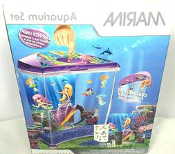 Marina 2.65 Gallon Aquarium Kit Fish Tank Starter Set NEW Me