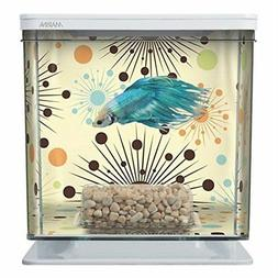 NEW Marina Betta Aquarium Starter Kit, Boy Fireworks FREE2DA