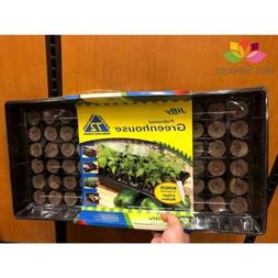 SEEDLING JIFFY SEED STARTER KIT Tray 72 Pellets Greenhouse P
