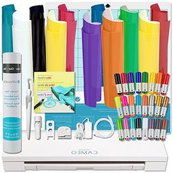 Silhouette Cameo 3 Starter Bundle with T-Shirt Kit, Vinyl, a