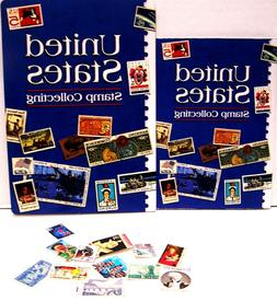 UNITED STATES STAMP COLLECTING STARTER KIT FOR KIDS includes