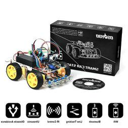US Robot Car Kit for Arduino Starter 4WD Bluetooth Tracking