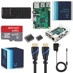 Vilros Raspberry Pi 3 Model B Complete Starter Kit with Keyb