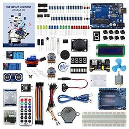 UCTRONICS Advanced Starter Kit for Arduino with Instruction
