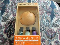 GURUNANDA AROMATHERAPY ESSENTIAL OILS STARTER KIT UBS CABLE