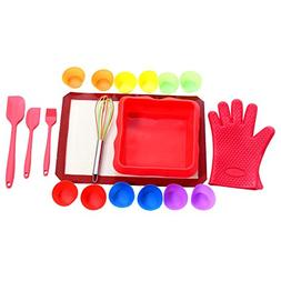 Baking Kit By UnicGlam Kids baking Set Girls Real Cupcake Ma