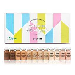 Stayve BB Glow Starter Kit Pigments All Shades - 12 Vials So