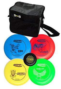 Innova Beginners Disc Golf Set with 4 Innova Discs and Innov