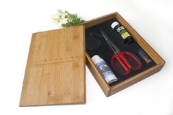 "Bonsai Tree Starter Tool Kit in Bamboo Box by Tinyroots. ""An"