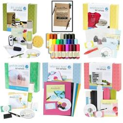 Silhouette Cameo Starter Kit Bundle with 5 Kits, 24 Sketch P