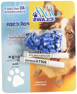 Canine Soft Claws Dog and Cat Nail Caps Take Home Kit, Large