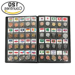 Classic Gifts 120 Countries Coins Collection Starter Kit Aut