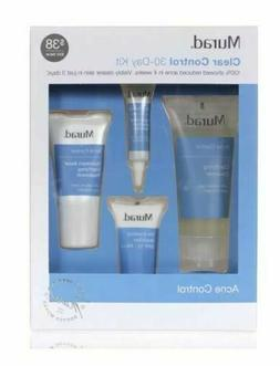 Murad Clear Control 30 Day Discovery Kit Featuring Acne Clea