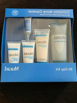 Murad Clear Control 5-Piece 60-Day Acne Kit please read