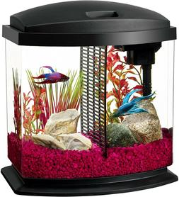 compact aquarium starter kits with led lighting