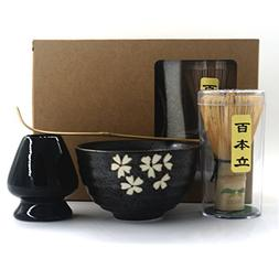 Complete Start Up Matcha Tea Kit - Retro Japanese Natural Ba