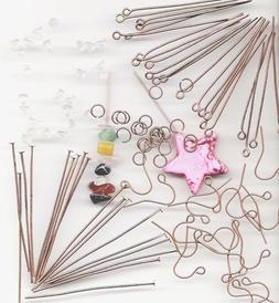 COPPER Jewelry Making Starters Wholesale Lot Assorted Suppli