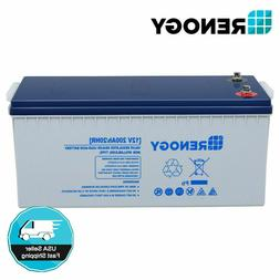 Renogy 100Ah 12V Deep Cycle Pure GEL Battery Rechargeable 12