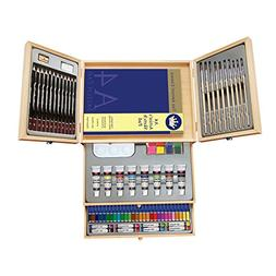 Deluxe Art Set- Painting & Drawing Set 83-Piece, Professiona