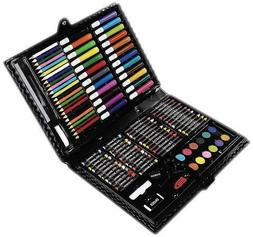 Darice 120-Piece Deluxe Art Set – Art Supplies for Drawing