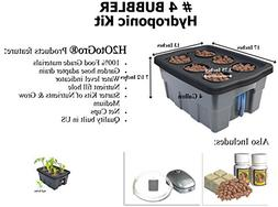 DWC Hydroponic BUBBLER System ~ #4, 6 site by H2OtoGro