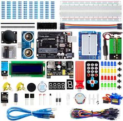 Electronic Project Starter Kit Beginners UNO R3 Board DIY Ar