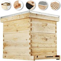 Essentials Complete 20 Frame Double Level Bee Hive Starter K
