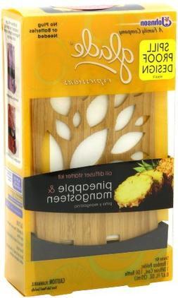 Glade Expressions Oil Diffuser Starter, Pineapple and Mangos