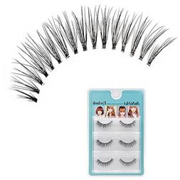 Lisin False Eyelashes Make up,3D Three Dimensional False Eye