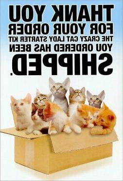 NobleWorks ''Cat Lady Starter Kit'' Funny Birthday Greeting