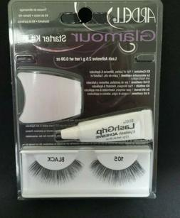 ARDELL GLAMOUR EYELASH STARTER KIT - BRAND NEW - COLOR 105 B